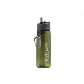 LifeStraw Go 2-Stage Drinkfles met waterfilter, green